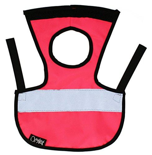 Doppelpack Warnweste für Hühner - 2 x Pink - 9